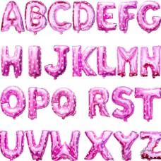 粉紅色字母氣球 - 16寸