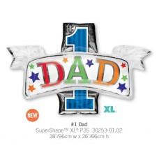 #1 Dad 氣球