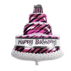 3層生日蛋糕氣球