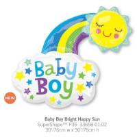 Baby Boy Bright Happy Sun 氣球