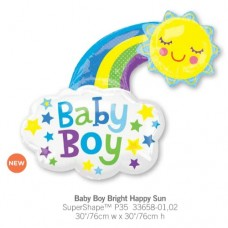 Baby Boy Bright Happy Sun 氣球