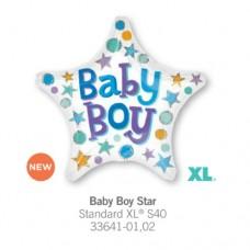 Baby Boy Star氣球