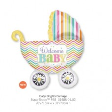 Baby Brights Carriage 氣球