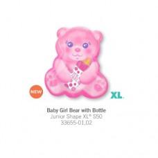 Baby Girl Bear With Bottle 氣球