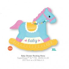 Baby Shower Rocking Horse 氣球