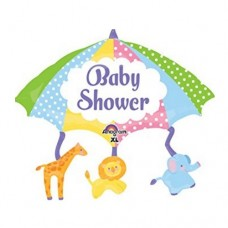 Baby Shower Umbrella & Animal 氣球