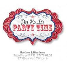 Bandaba & Blue Jeans 氣球