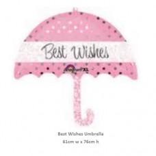 Best Wishes Umbrella 氣球