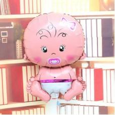 Baby 鋁箔氣球 - 可愛女仔BB