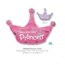 Birthday Princess Crown 氣球