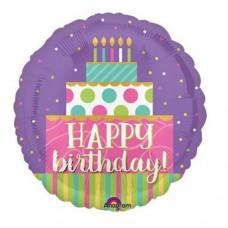 Birthday Swirl 氣球