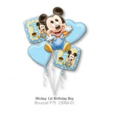Mickey 1st Birthday Boy  氣球組合