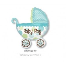 Baby Buggy Boy BB車氣球