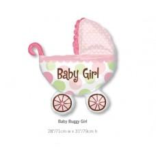 Baby Buggy Girl BB車氣球