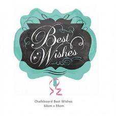 Chalkboard Best Wishes 氣球