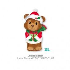 Christmas Bear 氣球
