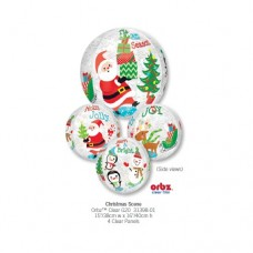 Christmas Scene  立體氣球