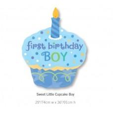 Sweet Little Cupcake Boy 氣球