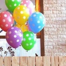 12寸波點乳膠氣球