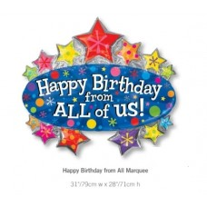 Happy Birthday from ALL of US Marquee 大帳篷氣球