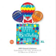 HBD Present Balloons 氣球