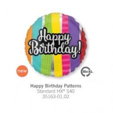 Happy Birthday Patterns 氣球