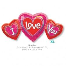 I Love You 氣球