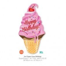 Ice Cream Cone Birthday 氣球