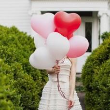 12寸心型乳膠氣球