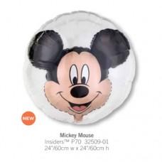 Mickey Mouse 透明球中球