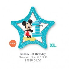 Micky 1st Birthday 氣球