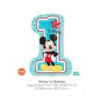Micky 1st Birthday One 氣球