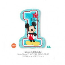 Micky 1st Birthday One 氣球