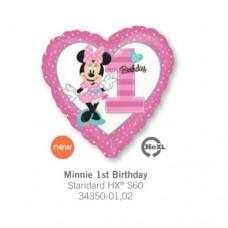 Minnie 1st Birthday 氣球