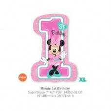 Minnie 1st Birthday One 氣球