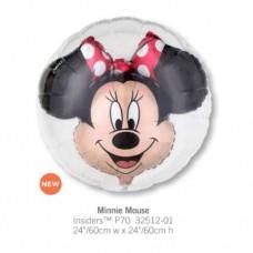 Minnie Mouse 透明球中球