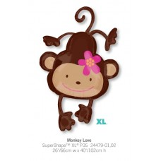 Monkey Love 氣球