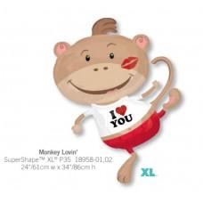 Monkey Lovin 氣球