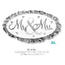Mr & Mrs氣球