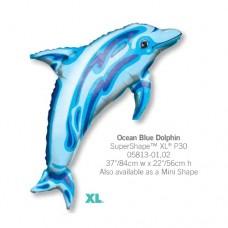 Ocean Blue Dolphin 氣球