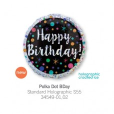 Polka Dot BDay 氣球