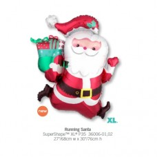 Running Santa氣球