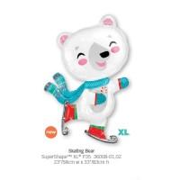 Skating Bear 氣球
