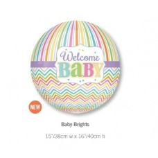 Baby Brights 圓形氣球