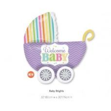 Baby Brights BB車氣球
