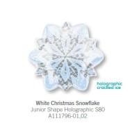 White Christmas Snow Flake氣球